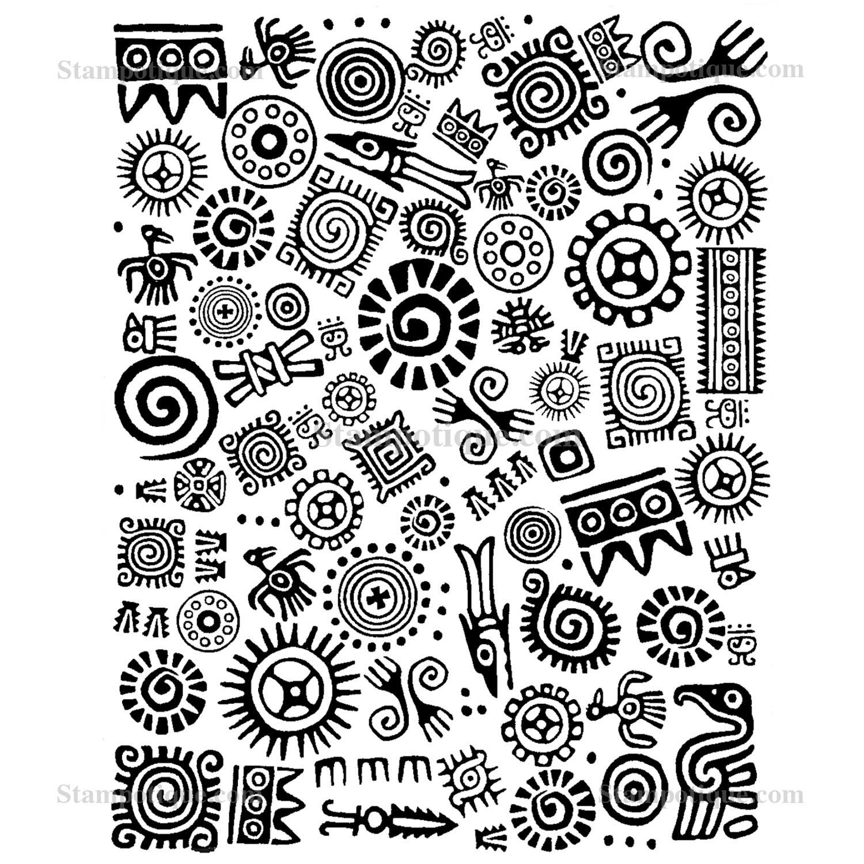 Gallery For gt Mayan Art Designs