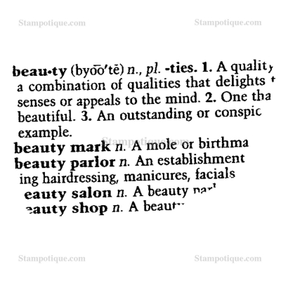 Definition essay on beauty